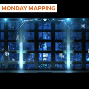Ambient Christmas Mapping NYC (#197)