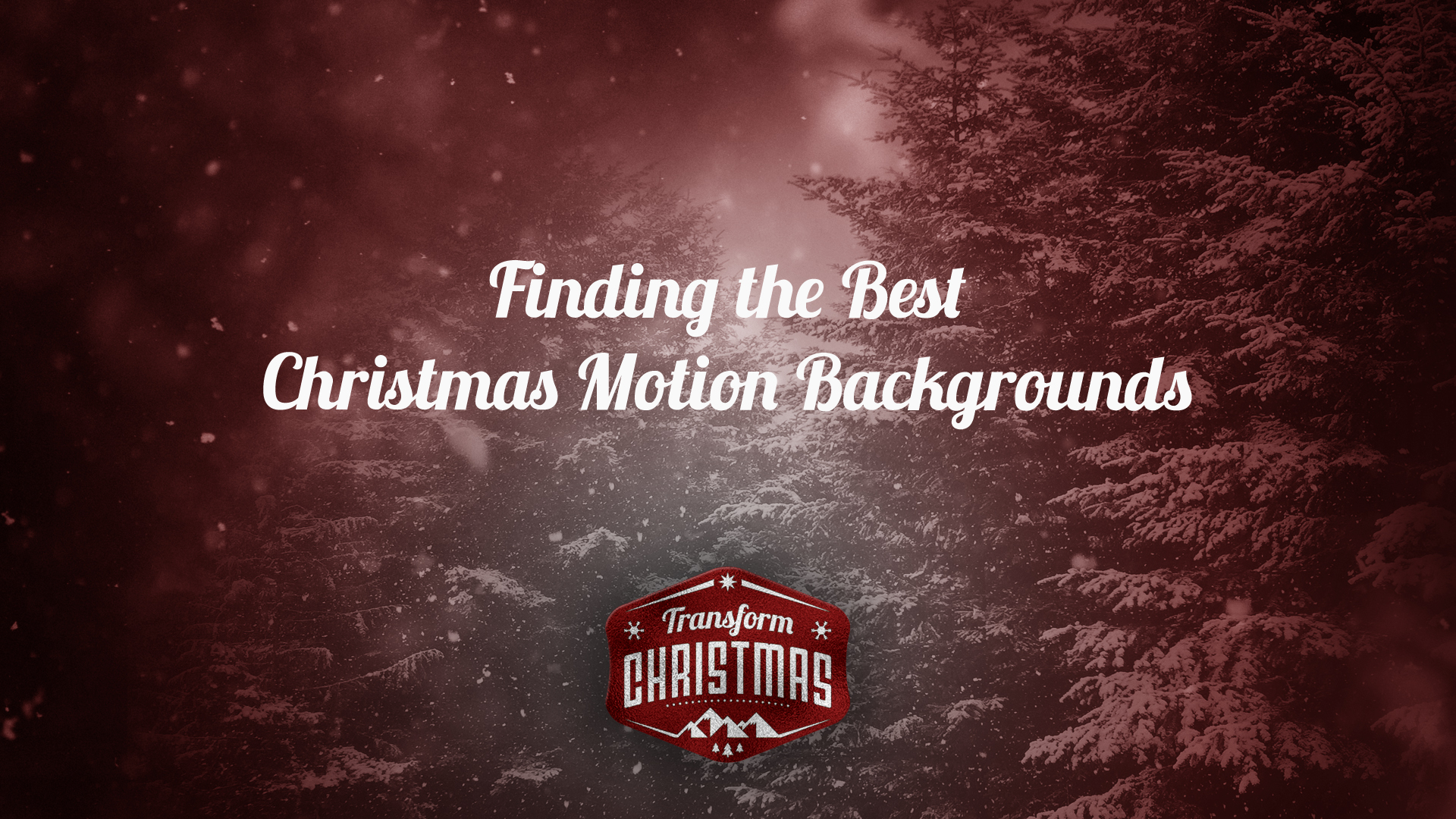 how to find the best christmas motion backgrounds triplewide media
