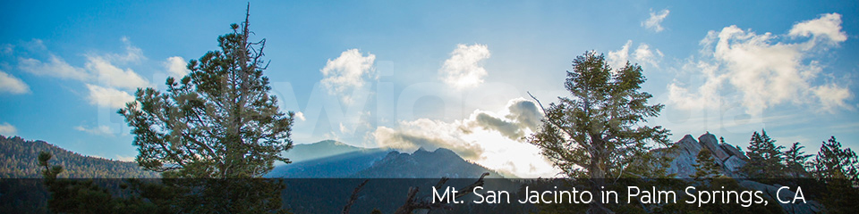 Mt. San Jacinto in Palm Springs, CA | TripleWide Media