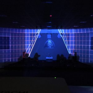 Custom Pixel Mapping for Environmental Projection