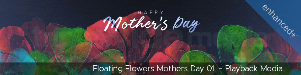 Floating Flowers Mothers Day 01 | TripleWide Media