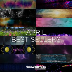 Best Sellers in April at TripleWide Media