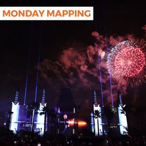 Star Wars Projection Mapping and Fireworks (#210)