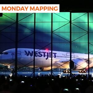 WestJet Reveal Projection Mapping (#214)