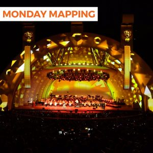 Hollywood Bowl Projection Mapping (#222)