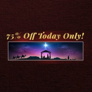 75% OFF from Life Scribe Media for Christmas Eve