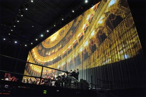 Andrea Bocelli's Tripolina Projection - Stadium | TripleWide Media