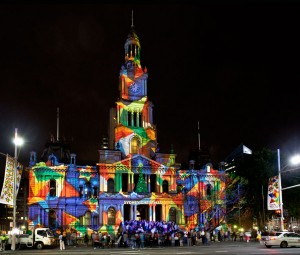 Sydney Outdoor Projection   TripleWide Media