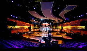 American Idol Stage Design Triple Wide